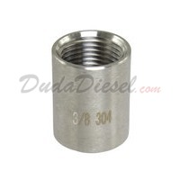 "ISO 3/8"" Coupling Stainless Steel Fitting"