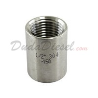 "1/2"" Coupling Stainless Steel Fitting"