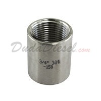 "ISO 3/4"" Coupling Stainless Steel Fitting"