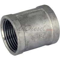 "1"" coupling stainless steel"