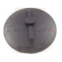 cone tank lid with air vent