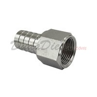 SS304 Female Hose Barb Adapter 3/4""