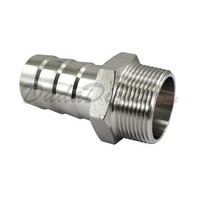 Hex Male Hose Barb Adapter 1-1/4""