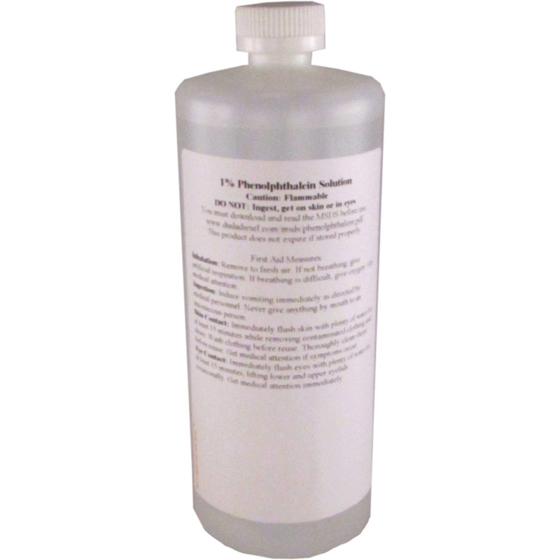 1% Phenolphthalein Solution, 950 ml [pth950] | DudaDiesel ...