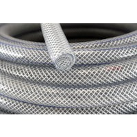 clear braided pvc tubing
