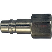 quick disconnect female plug stainless steel