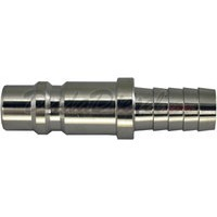 quick disconnect hose barb plug stainless steel
