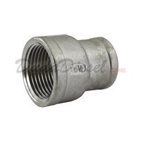 "SS304 Reducing Coupling 3/4"" Female x 1/2"" Female"