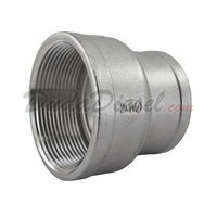 "SS304 Reducing Coupling 2"" Female x 1-1/2"" (1.5"") Female"