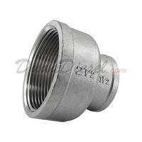 "Reducing Coupling, 2-1/2"" (2.5"") x 1-1/2"" (1.5""), SUS304"