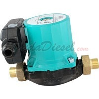wilo hot water circulation pump side view
