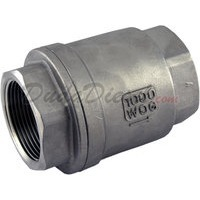 "1-1/4"" stainless steel check valve"