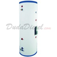 1000 Liter Stainless Steel Solar Water Heater Tank Single Copper Coil Built-in Heat Exchanger