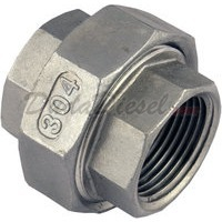 "1.25"" stainless steel union"
