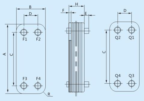 Heat Exchanger Dimensions