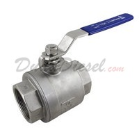 "2PC Heavy Ball Valve WOG1000 Type I 2-1/2"" NPT"