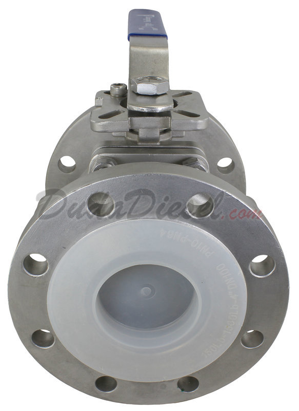 150 lb ANSI Flange Ball Valve [ANSIBV-150LB-400] | DudaDiesel