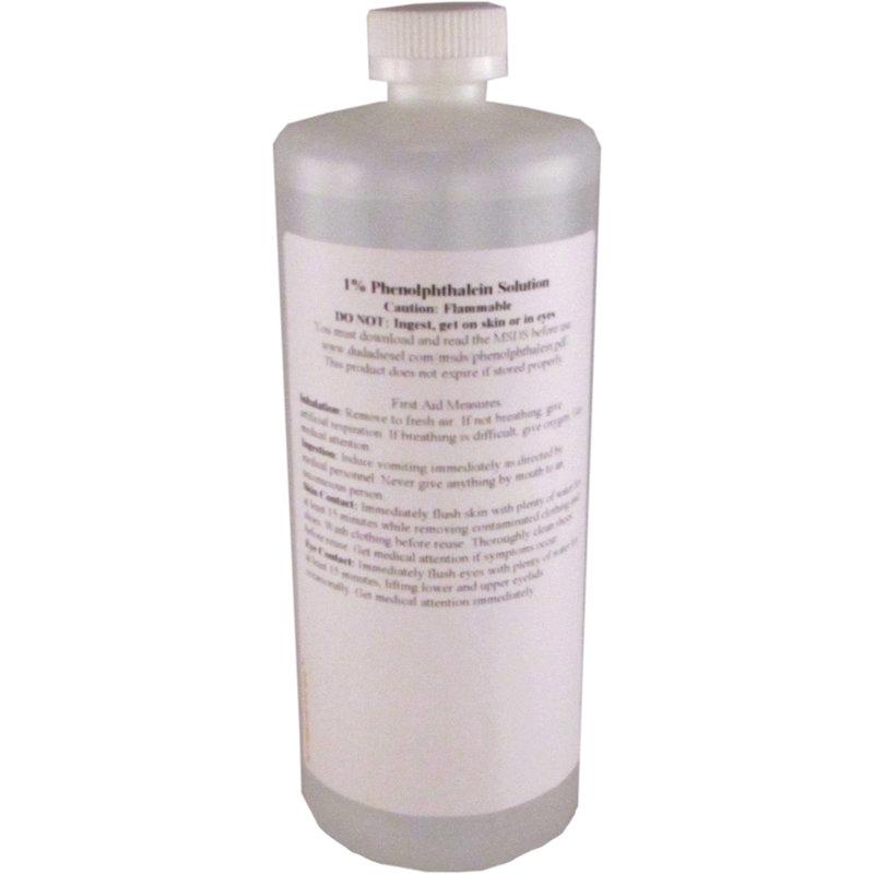 1 Phenolphthalein Solution 950 Ml Pth950 Dudadiesel Biodiesel