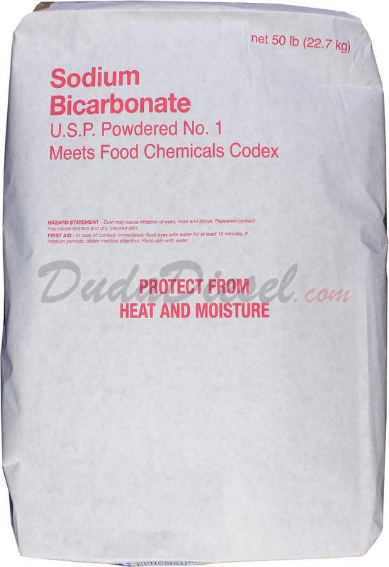Sodium Bicarbonate, 50 lb Bag [sbcbags]   DudaDiesel Biodiesel Supplies